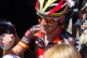 Alejandro Valverde Autographs My Jersey