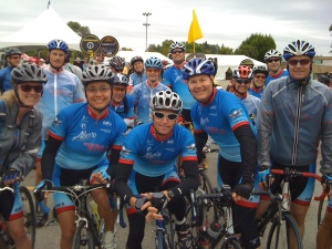 Extreme Style Cycling Team lines up
